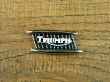 "TRIUMPH MOTORCYCLE VEST PIN ~1-1/2"" x 5/8"" LAPEL HAT BADGE BIKER BROCHE ROCKET"