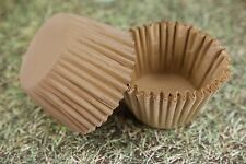 1000x, 2.25'' Paper Cupcake Muffin Liners, Baking Cups Unbleached Natural, Jumbo