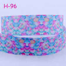 """NEW DIY 7/8""""(22mm) Sweet Candy Printed Grosgrain Ribbon Hair Bows Crafts Gifts"""