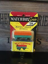 matchbox regular wheels no.2D-1.Version mint Rare US-Blistercard from 1968