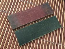 "Pair of 5"" Green Micarta Scale. Jewelry-Handle- Handy Craft-knife Supplies"