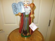 KSA STEINBACH MOSES NUTCRACKER GERMANY LT. EDITION BIBLICAL SERIES HANDMADE VTG
