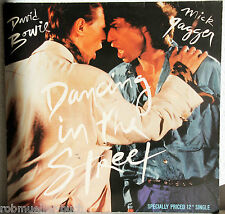 "12"" Vinyl Maxi - DAVID BOWIE / MICK JAGGER - Dancing In The Street"