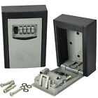 High Security Steel Wall Mount Key Box With Combination Lock/Safe Store Keys/Car