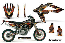 Husqvarna SM/TC/TE Graphic Kit AMR Racing # Plates Decal Sticker Part 05-08 FSB