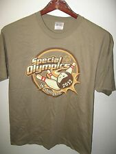 Special Olympics Washington State USA 2012 Seattle Bowling Team Sports T Shirt L