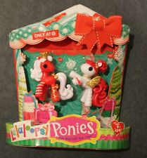 Lala Loopsy mini Christmas Ponies Target exclusive holiday #10 #11 New in box
