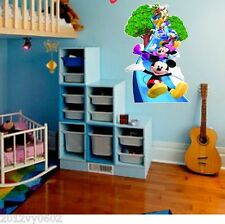 DISNEY MICKEY MINNIE MOUSE WALL ROOM ART DECOR DECAL STICKER BIRTHDAY GIFR