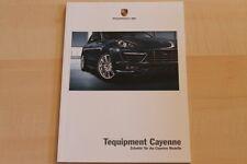 73574) Porsche Cayenne - Zubehör - Prospekt 07/2011