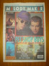 MELODY MAKER 1990 DEC 1 PET SHOP BOYS SEAL HAPPY MONDAY