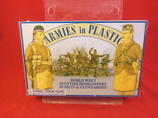 Armies In Plastic 1/32nd Scale WWI Scottish Highlanders Soldiers Set 5407 NEW!