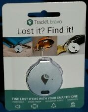 NEW TrackR Bravo Tracking Device Mini GPS Tracker - SILVER