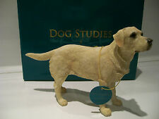 Yellow Labrador Retriever Ornament Figurine Figure Dog Gift