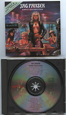 "JAG PANZER ""Ample destruction""ORG cd 89 SIGNED!! Liege Lord,Savage Grace"