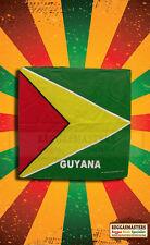 Guyana tête écharpe bandana imprimé caribbean pride roots & culture