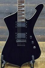 2008 Ibanez X Series Iceman ICT700 Black Electric Guitar w/ Case - #I080210776