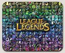 League of Legends All Items Mousepad