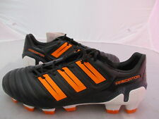 Mens Adidas adiPower Predator TRX FG Black / Orange UK 6.5 US 7 EUR 40 REF 1440