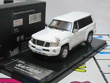 Nissan Safari Grand Road 4x4 Limited 2004 white 1/43 WITs Resin (w16)