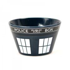 Gres Cereal O Sopa Bowl-Dr Who Tardis Diseño De Vestuario
