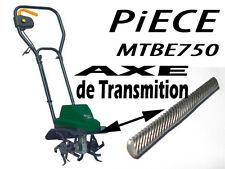 PIECE bineuse tck  MTBE 750  électrique 750W tck axe transmision elem tymeka