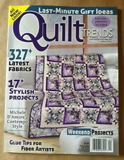 Quilt Trends Winter 2014 FREE SHIPPING, 327 Latest Fabrics, Weekend Projects