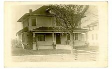 Greeley CO - HOUSES IN VILLAGE - RPPC Postcard Colorado