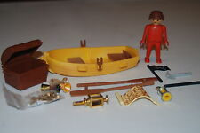 Playmobil 3570 e) Barca pirata del tesoro Treasure pirate boat