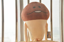 Funghi Mushroom Garden Nameko Plush Stuffed Doll Toy Figure for Phone Game 40cm