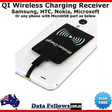 QI Wireless Charger Charging Receiver for Samsung Galaxy Note 4 5 S6 S7 HTC One