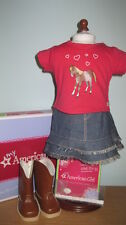 NEW American Girl Western Riding Outfit-Retired/NIB