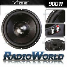 "Vibe Pulse 12"" 30cm Sub Subwoofer Car Audio Bass 900W 4Ohm SVC Speaker"