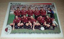 FIGURINA CALCIATORI PANINI 1997/98 SQUADRA NOCERINA ALBUM 1998