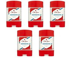 5x Old Spice Whitewater Anti-perspirant Deodorant Gel Stick For Men 5x70ml