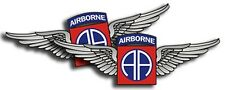 4x AA Airborne Stickers  -  Military Die-Cut Decal 82nd - 4 Pack