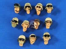 Verlinden 1/35 US Modern Soldier Heads Set (Iraq - Afghanistan) (11 heads) 2641