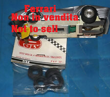 OLD POLICAR POLISTIL POLY 4 GOMME TYRES 1/32 SLOT CAR GT YEAR '60 RARE NEW MINT