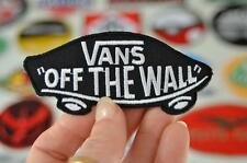 SKATE OFF THE WALL Brand Sport Board Street Clothing Logo Patches Iron On Patch