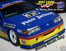 1:18 Alan Jones Biante MISSING Vinyl Decals ONLY EB Ford Falcon 1993 ATCC Model
