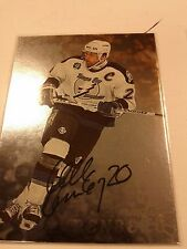1998-99 BAP Be A Player  Autograph Mikael Renberg Card 131 Great Swede!!