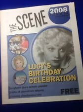 Early Lucille Ball 2008 THE SCENE Newspaper I LOVE LUCY