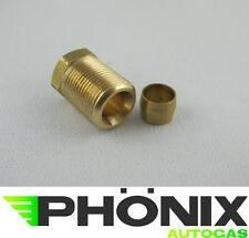 Autogas Schneidmutter Ø6 - M14x1- Länge: 20mm inkl.Schneidring Kupferleitung