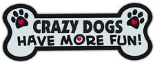 Dog Bone Shaped Magnets: Crazy Dogs Have More Fun! | Cars, Trucks, Mailboxes