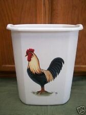 HP ROOSTER WASTE PAPER BASKET/NEW ITEM BY MB/ WOW