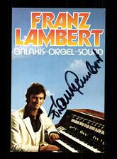 Franz Lambert Autogrammkarte Original Signiert ## BC 96149