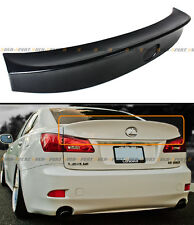FOR 2006-13 LEXUS IS250 IS350 ISF WA STYLE JDM DUCK BILL ABS REAR TRUNK SPOILER