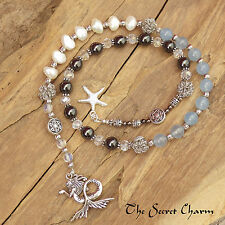 Sea Witch Morgana Witches Ladder, Spell Casting, Wiccan Pagan Prayer Beads