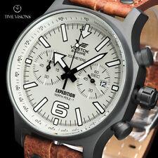 Vostok-Europe LE Expedition North Pole-1 Quartz Chronograph Strap Watch 5954200