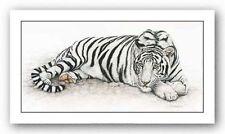 TIGER ART PRINT Siberian Tiger Jan Henderson