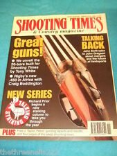 SHOOTING TIMES - RIGBY .450 IN AFRICA - MARCH 16 1995